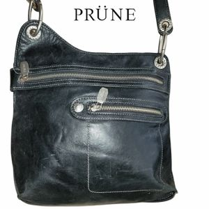 PRÜNE Leather Crossbody Unisex Bag from Argentine